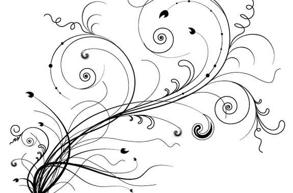 Swirl-Floral-and-Flower-Vector-Files-21