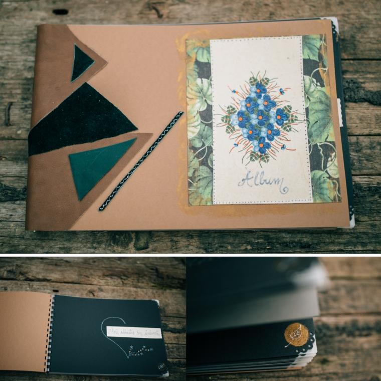album flori albastre